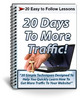 20 Days To More Traffic Course