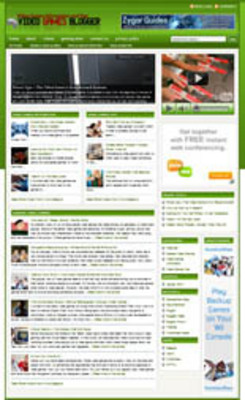 Product picture Video Games Blog Package