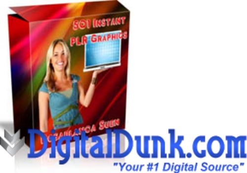 Product picture 501 Instant PLR Graphics for websites