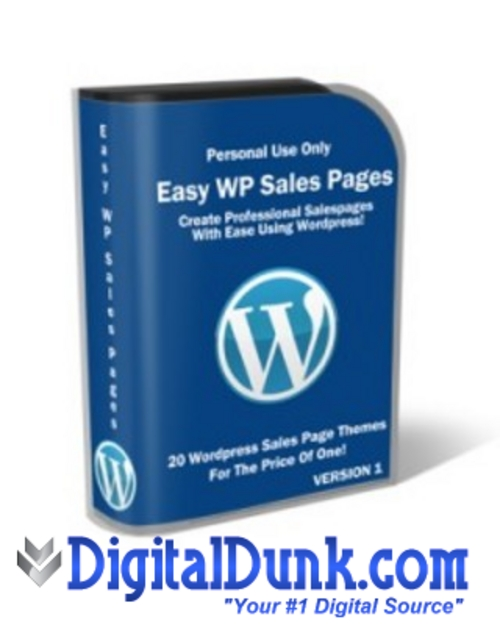 Product picture Easy Wordpress Sales Pack