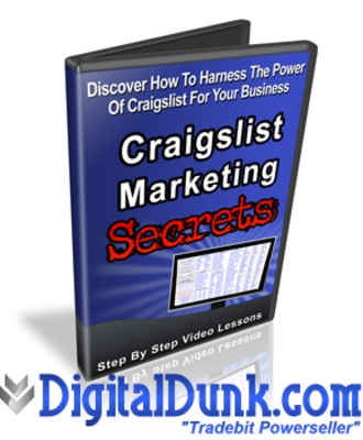 Product picture Craigslist Marketing Secrets