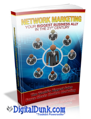 Product picture Network Marketing Your Biggest Business Ally in the 21st Cen