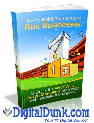 Product picture How To Build Products That Run Businesses