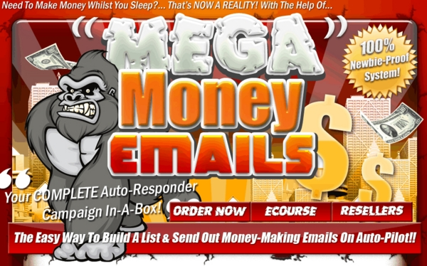 Product picture Mega Money Emails