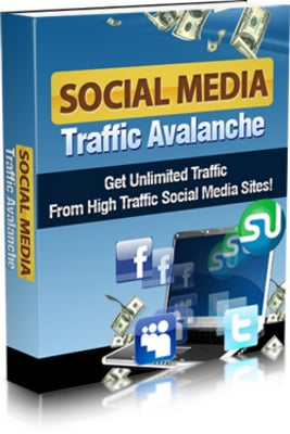 Product picture social media traffic with MRR