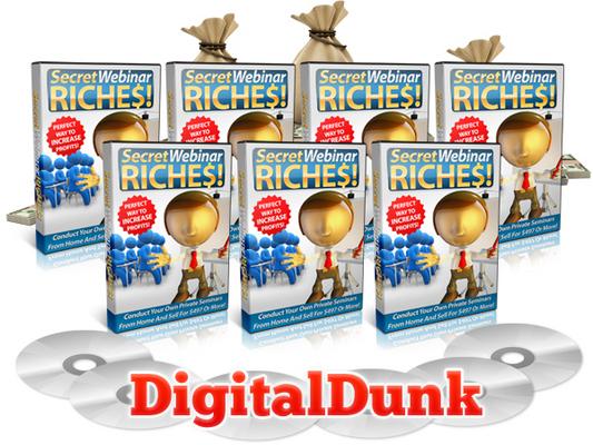 Product picture Secret Webinar Riches - Video Series