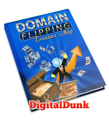 Product picture Domain Flipping Treasure Map (PLR)
